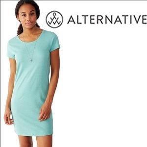 Alternative Apparel short sleeve jersey dress